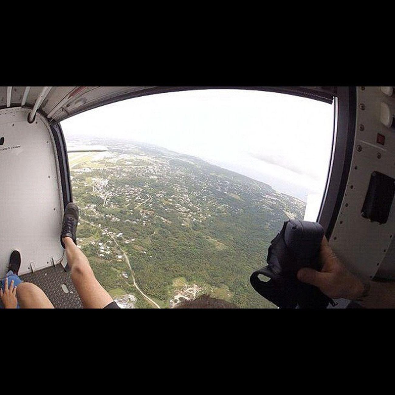 飛んだー‼ Sky Guam Gopro Skydive Webstagram Freefall Hafaadai グアム スカイダイビング Skydving ソラトビ