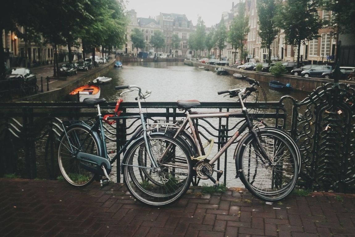Amsterdam Amsterdamcity Amsterdamcanal Holland The Netherlands Netherlands2014 Bike Bicycle