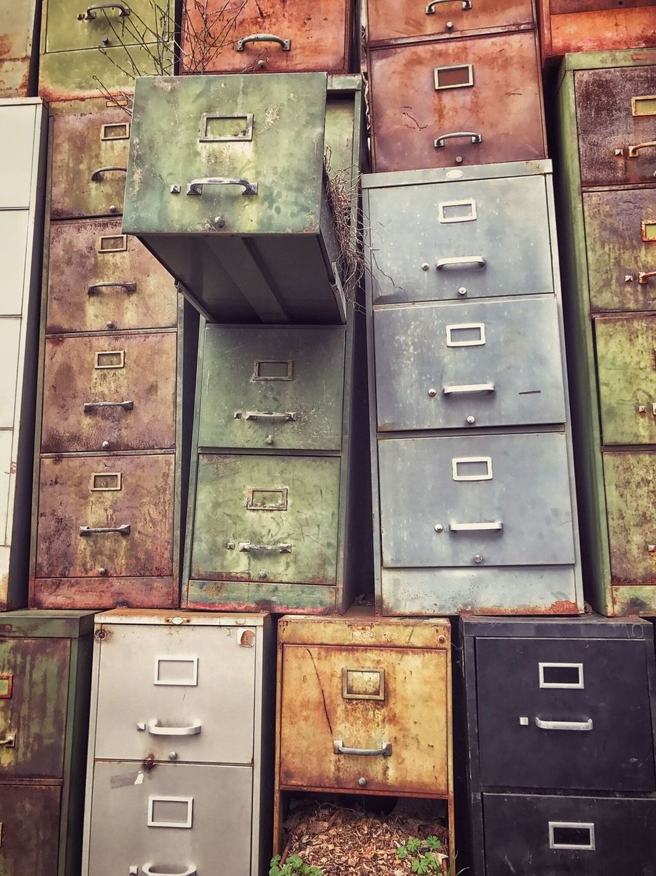 Abandoned Abandoned Places Color Green Color Rusted Metal  No People Outdoors Box - Container Multi Colored Found Beauty Mint Green Rust Color Art Is Everywhere
