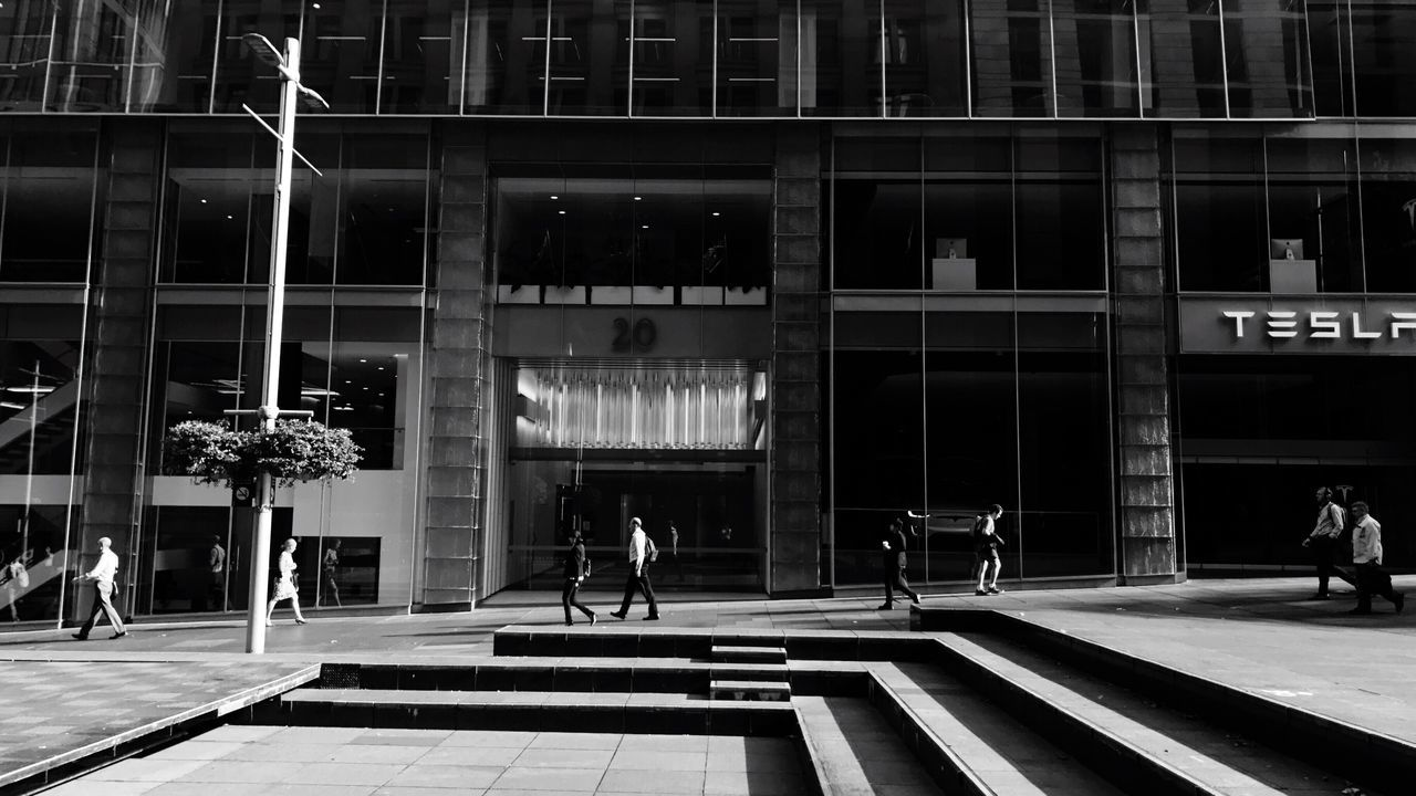 Black And White Everybodystreet | Daily Commute Sydney Morning Photo