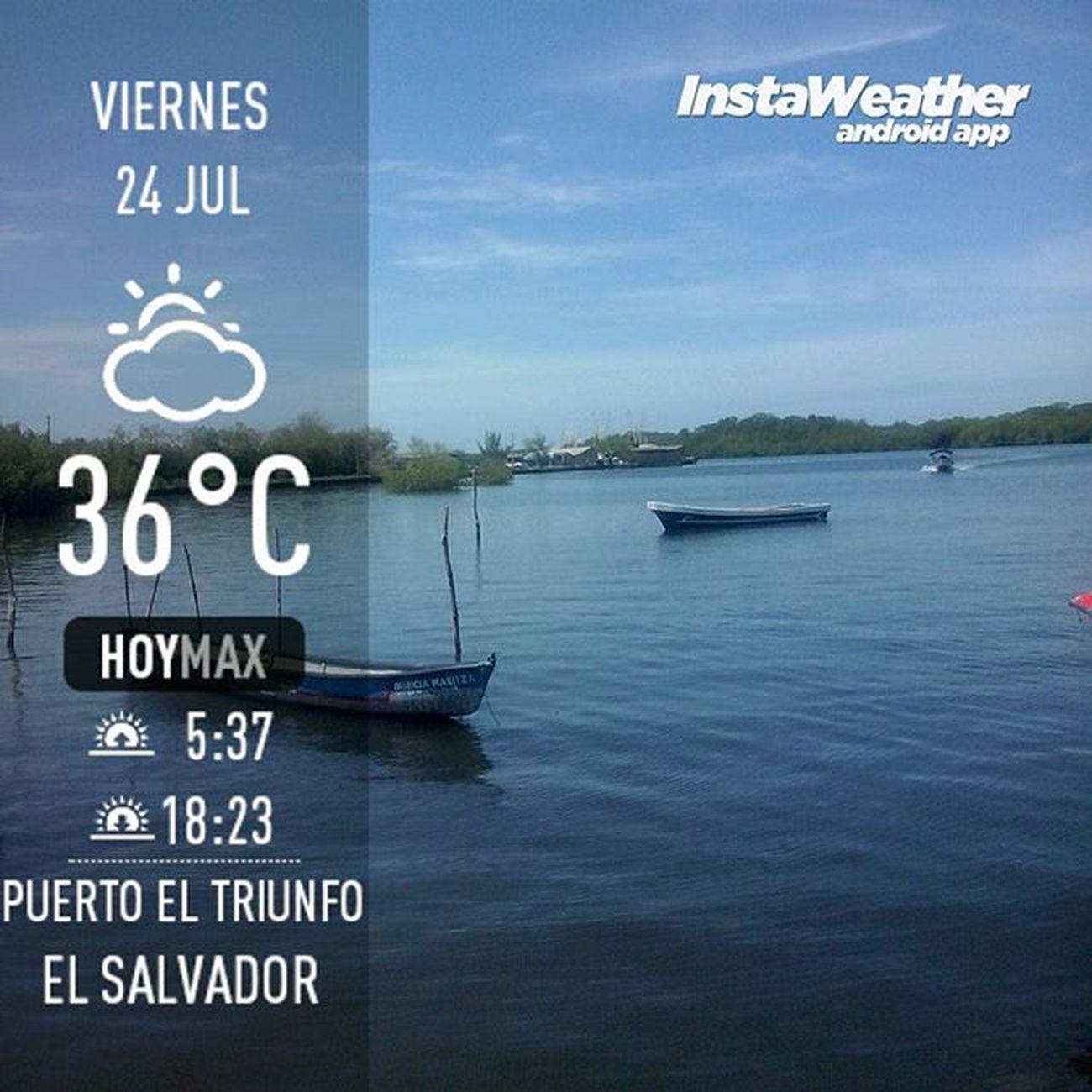 PuertoElTriunfo Usulutan Misviajes Tremendo calor