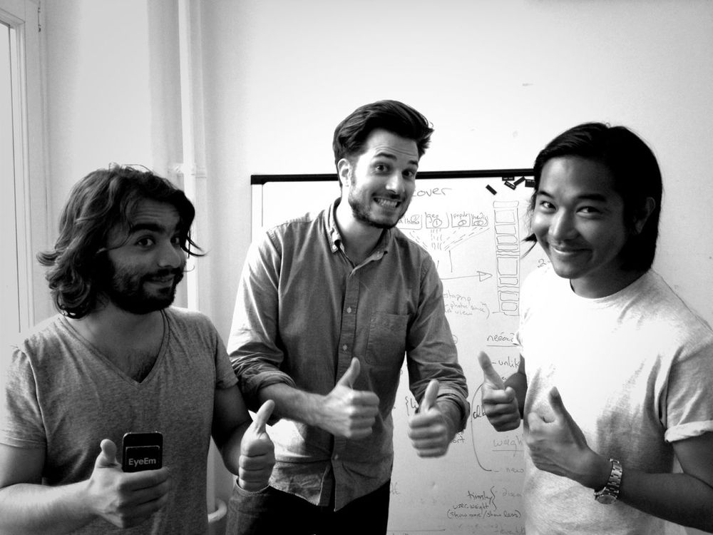 thumbs up at EyeEm HQ by Flo Meissner