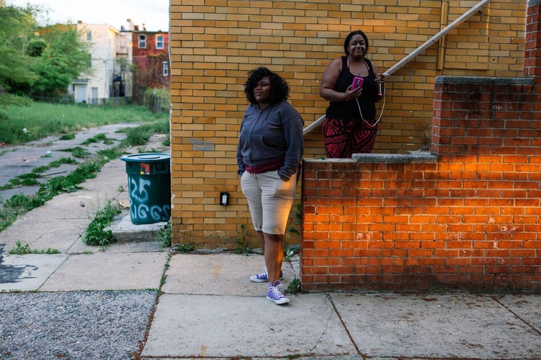 "New on the blog- Past the soundbites, images and words is a part of Baltimore that will require a lot of time, attention and money to repair. Damages from 1968 riot remain. People who can work, and can find jobs, are trying to make ends meet. Others struggle with theuphill battle of addiction. Pride in the neighborhood is strong. Self-organized volunteers are feeding crowds, protecting the police from violence, and cleaning up the streets. As one resident I talked to said, ""If we think you are coming here to hurt us we are going to get angry, but if you are friendly we'll treat you with respect."" You can see the full set of images here: http://www.keithlanephotoblog.com/baltimore-freddie-gray/ Baltimore Freddie Gray"