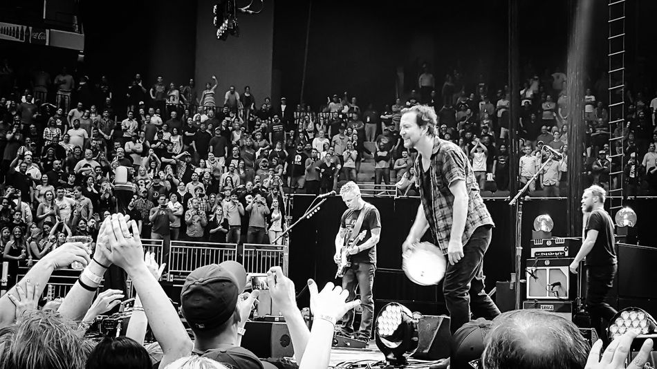 Pearl Jam Eddie Vedder Concert Photography Jeff Ament Mike McCready