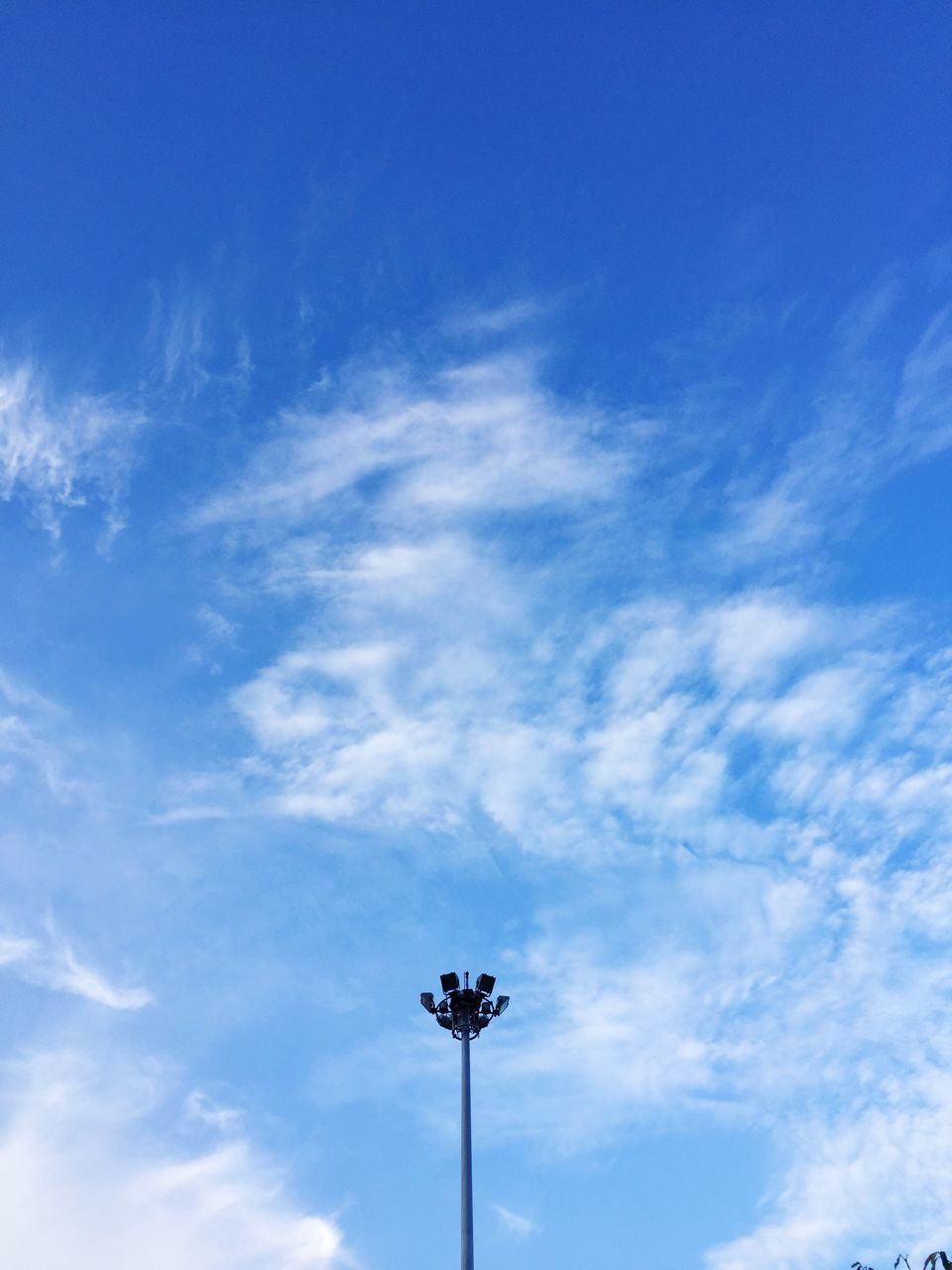 low angle view, sky, blue, cloud - sky, day, outdoors, no people, nature