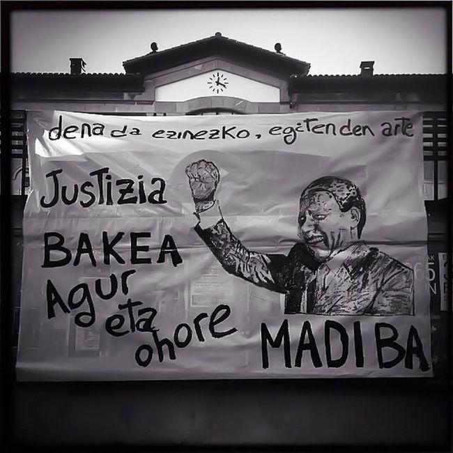 Au revoir Monsieur Mandela et un grand Merci ❤️