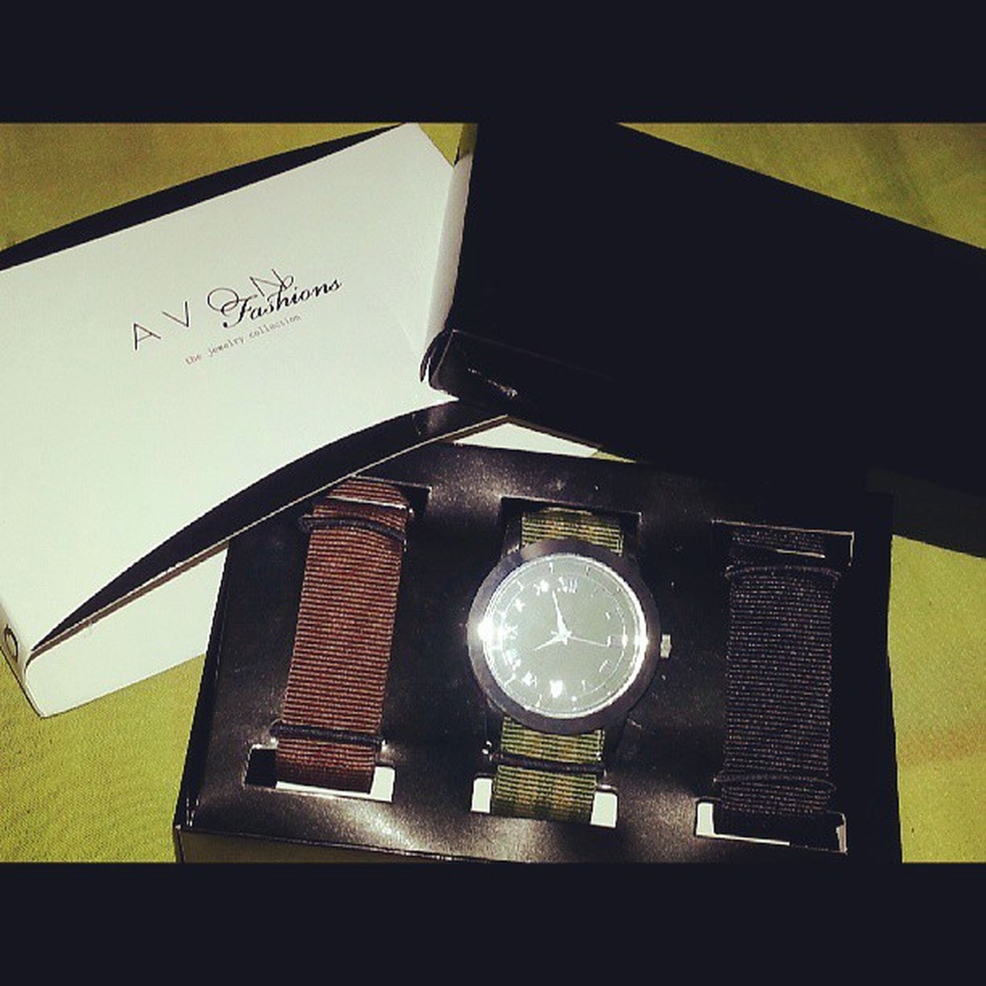Mom bought me this wrist watch from avon. Haha! So thoughtful. ♥♥♥ Avon Avonformen Avonfashion Tiktok