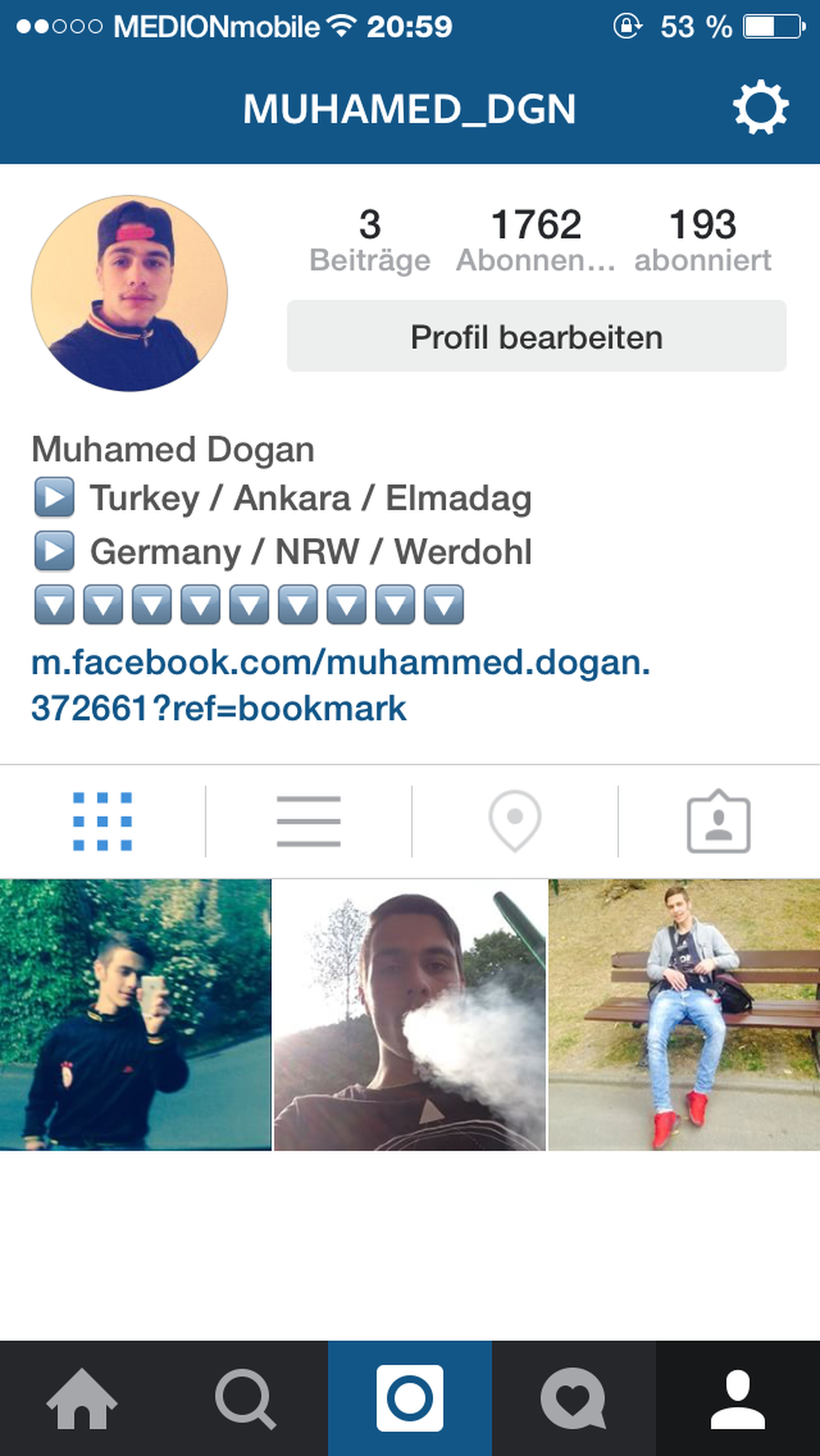 Followme Follow4follow Followerback Instagramcats Instagram 100% Follow Back @muhamed_dgn <3 Love Türkiye