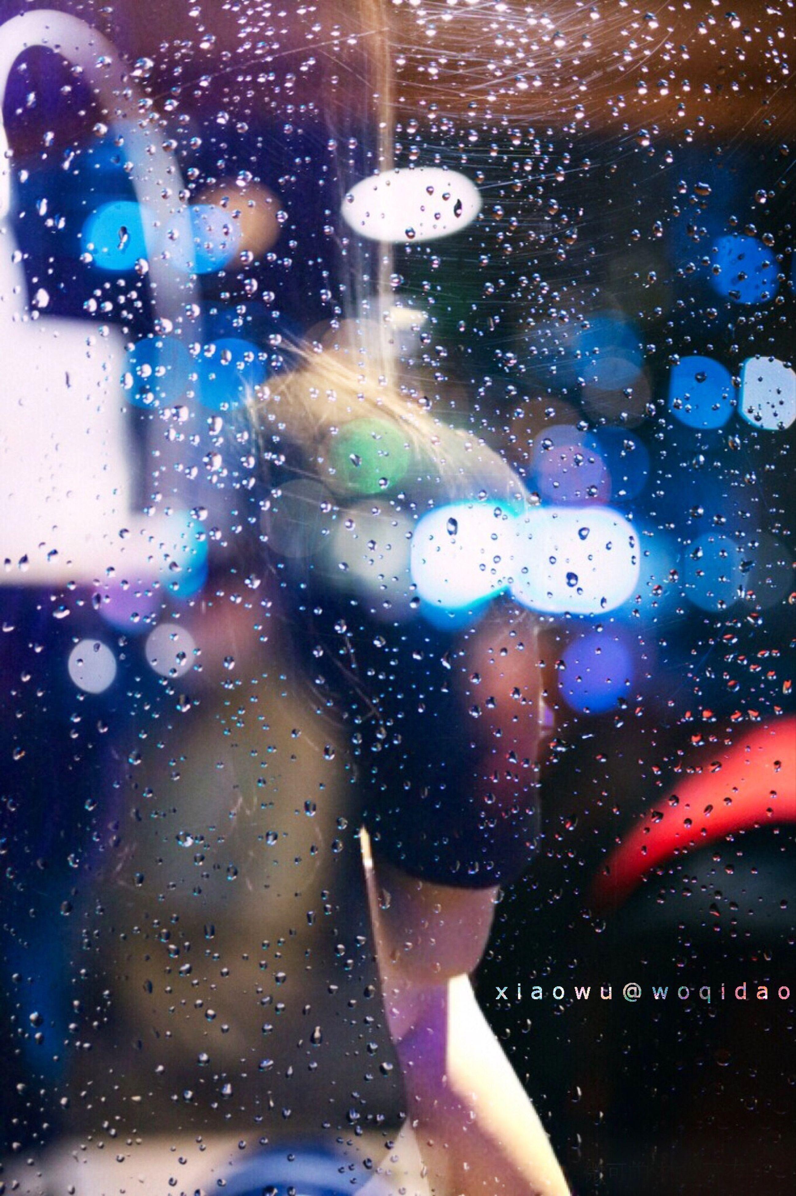 drop, transparent, glass - material, wet, window, indoors, rain, car, water, illuminated, night, glass, land vehicle, raindrop, transportation, vehicle interior, season, windshield, street, mode of transport