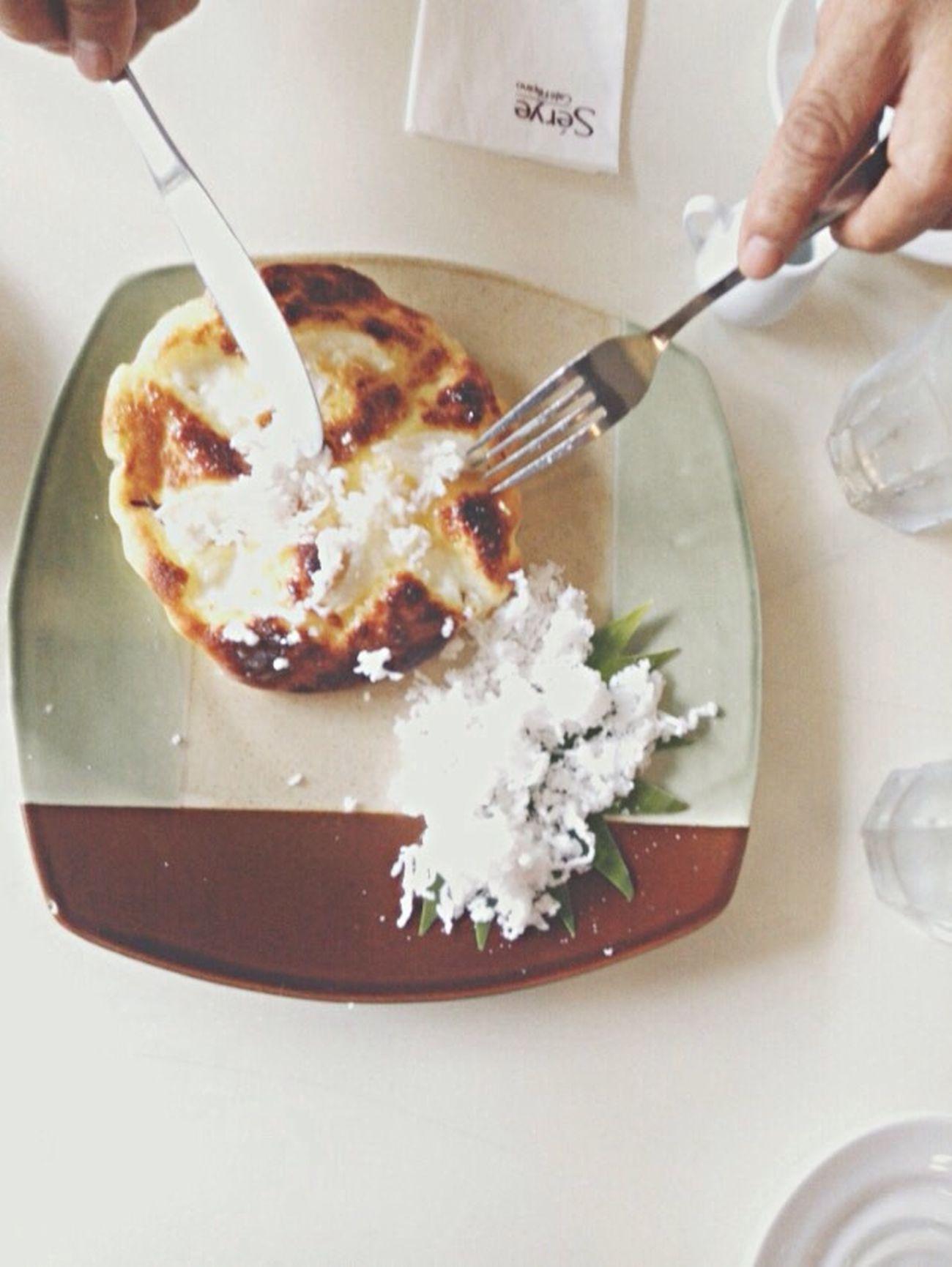 The bebe Bibingka Merienda CafeSerye