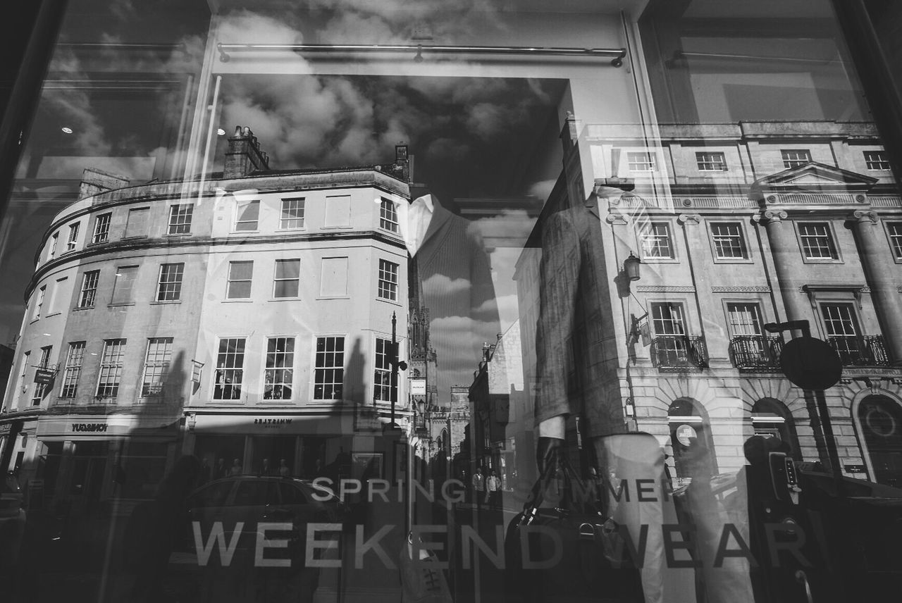 EyeEm LOST IN London Suitup Suit Suits and British Scenery in Bath, UK Building Exterior Architecture Built Structure Window Low Angle View Outdoors Day City No People