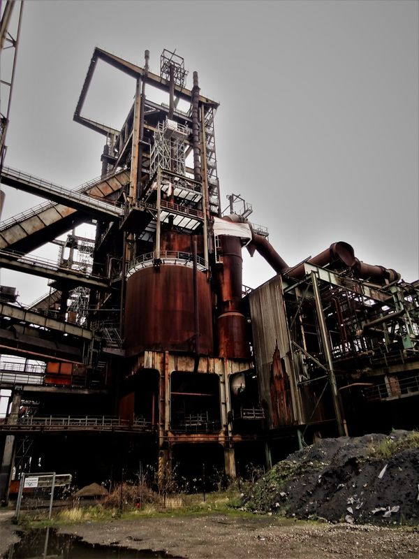 Hösch 9 Architecture Building Exterior Built Structure Day Factory History Industry Industry Iron Manufactoring Iron Producing Low Angle View Metal No People Outdoors Sky Steel Works Steelmill Technical Monument