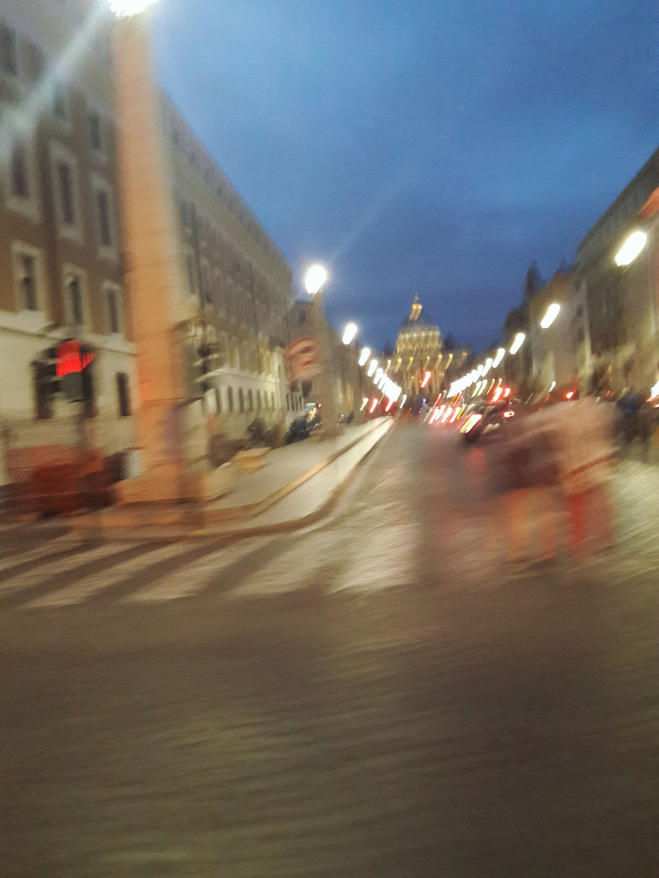 Moving Picture Architecture Urbaine Travel Destinations VaticanCity Via Della Conciliazione Turistic Places San Pietro In Vaticano