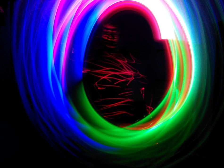 Color around me Multi Colored Abstract Concentric Black Background Conceptual Self Portrait Light Painting Photography. Art One Person Long Exposure Light Trail Selfportrait Indoors  Laser Close-up One Man Only Face Art Is Everywhere