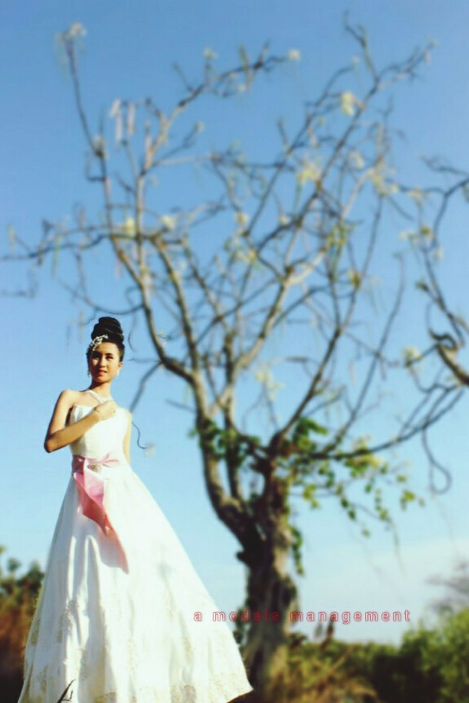 """""""the bride"""" gown: prijono agung--MUA: adie iskandar---photographer: angga catur---model: catherine wenny Model Gown Eveninggown Photography Fashion Makeup Hairstyle Amodelsmanagement Surabaya"""