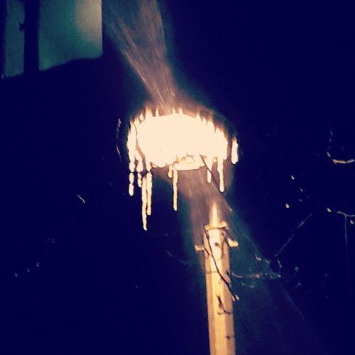 Ночь, улица, фонарь.....