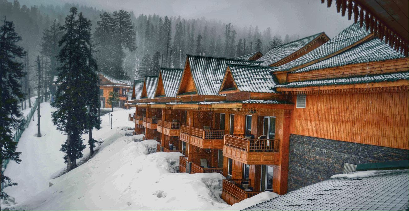 Mountain chills Landscape Nature Gulmarg Khyber Travel