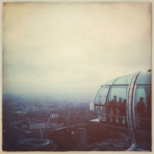 Lookout London Hipstamatic LondonEye