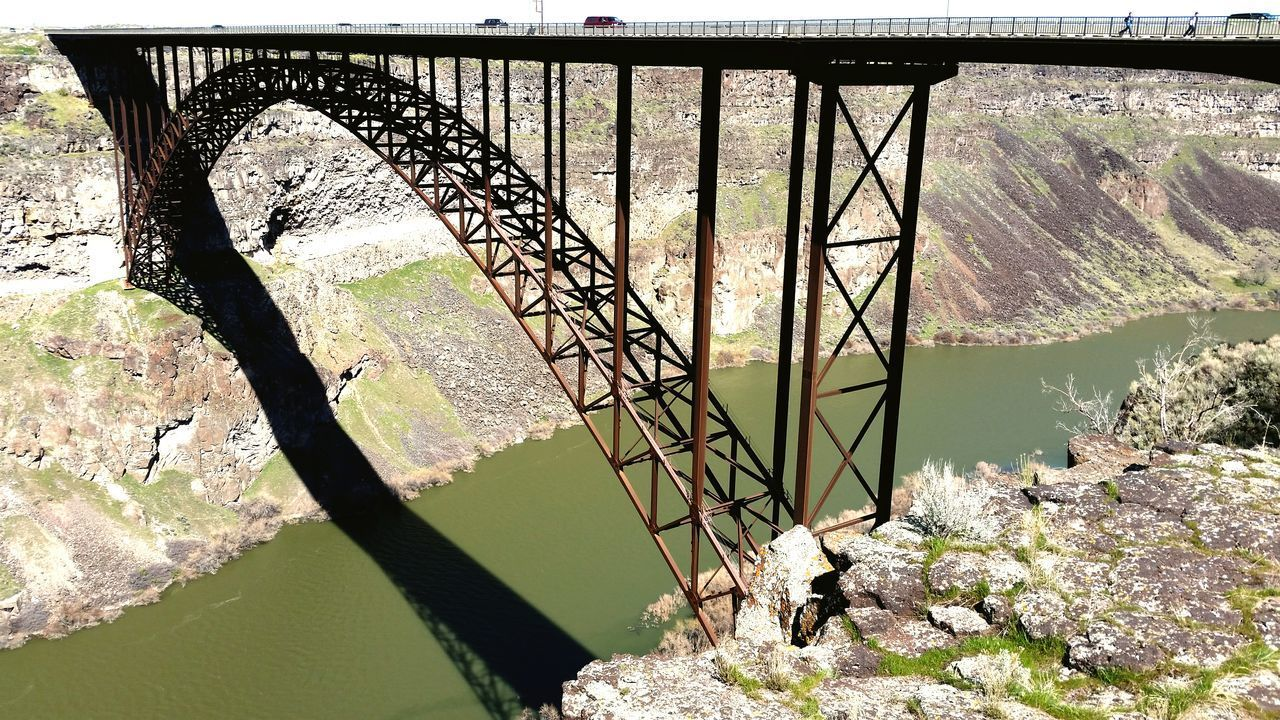 Arch bridge Arch Arch Bridge Steel Structure  Built Structure Bridge Over The River