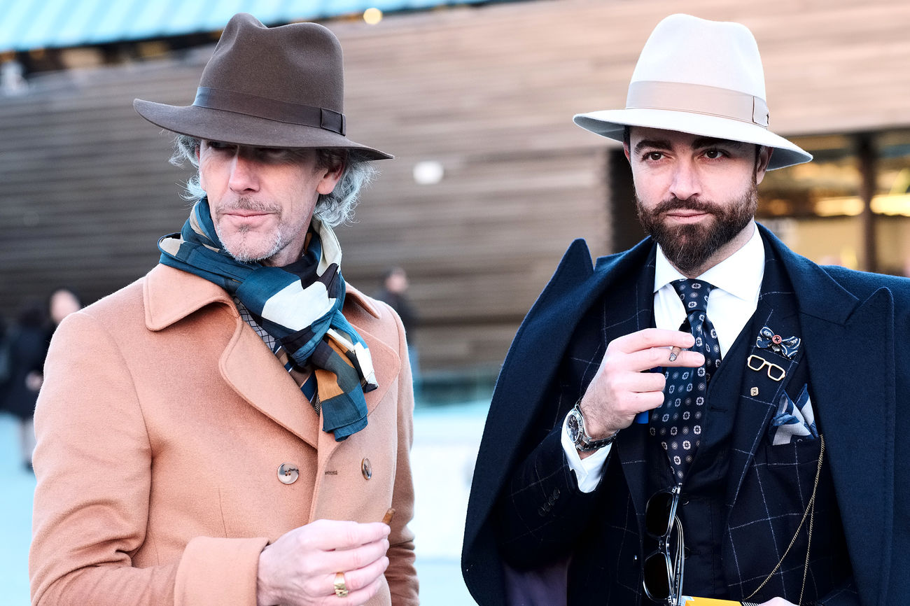 Photos taken at 91th edition of Pitti Uomo in Florence, Italy. Check out my blog for the full story. Fashion Fashion Photography Fashionable Fashionblogger Fashionista Fashionphotography Hat Malefashion Men Pittiuomo Streetfashion Style Stylish Two People