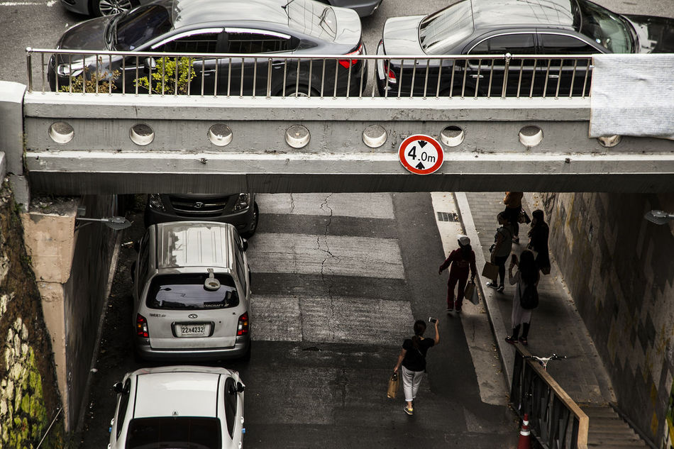Ewhabyukwhamaeul Ewha Wall Picture Village Haewhadong Bridge Under Bridge Seoul Korea