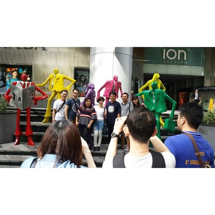 Outing TRUSTY in Singapore Period 07-11 July 2014 20140708 Ion Orchard Outing Singapore Trusty Fun Joy Travel Trip Like