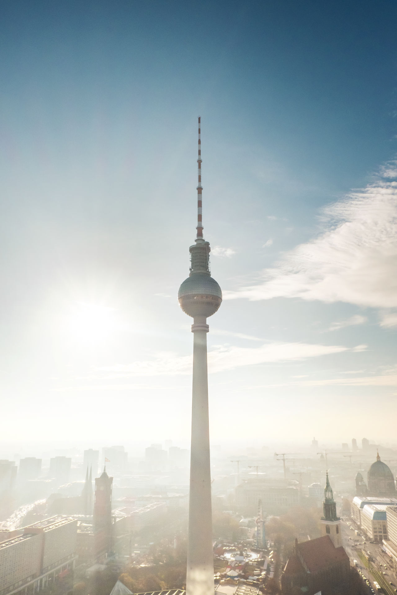 Beautiful stock photos of television, Architecture, Berlin, Building Exterior, Built Structure