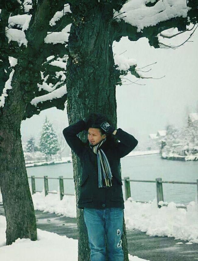 Traveling Enjoying Life Snow❄⛄ Lakezurich