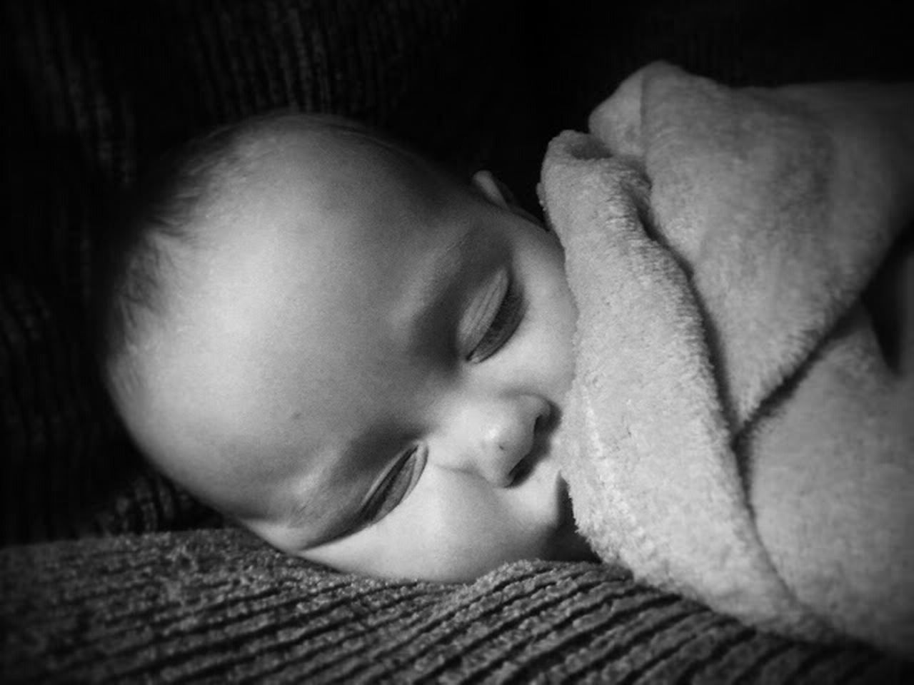 Babies Eyeemphoto Family Grand _ Children Black And White Portrait Snapshots Of Life Baby Newborn Close Up Face Night Night, Sleep Tight