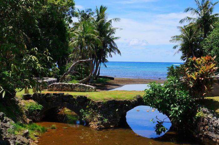 Spanish Bridge Guamhistory Islandlife Scenics Beauty In Nature Growth