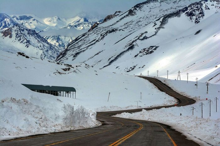 Edge Of The World Mountains Landscapes Photography Mendoza Argentina
