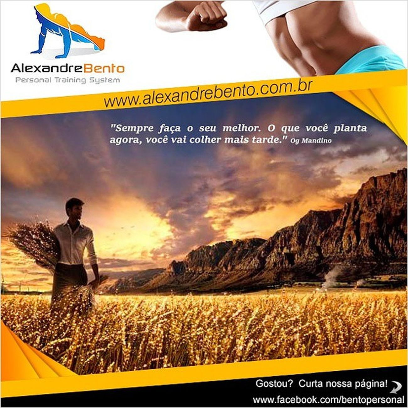 Motivacao , TreinoDeGluteos , Aumentandoosgluteos , Alexandrebento , treinamentofuncional, fitness, functionaltraining, trxtraining, personaltrainer, fikagrandeporra, gluteos, saude, hipertrofia, perdadepeso, motivacao, emagrecer, perderpeso