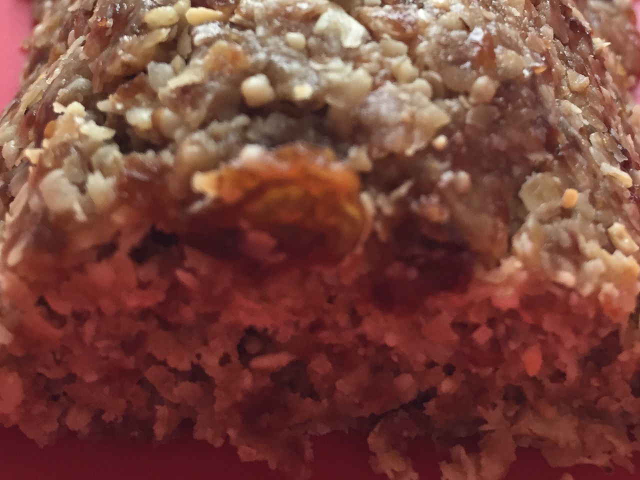Homemade muesli bar Oats Raisins Cashewnuts Homemade Fitness Delicious Gay Food Germaninlondon Foodporn