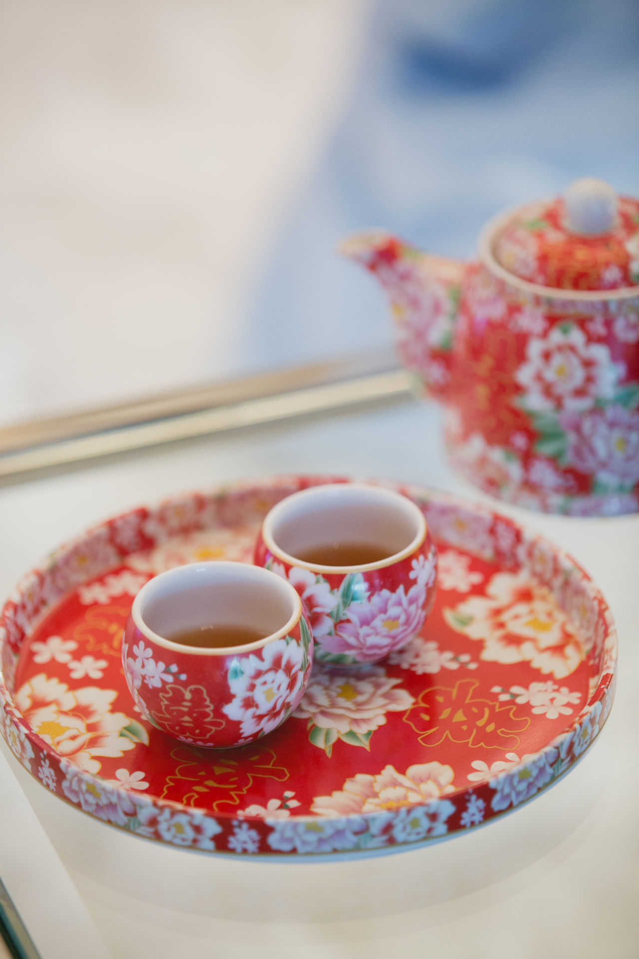 Chinese Ceramic Bowls Chinese Ceremony Close-up Cup Day Drink Focus On Foreground Food And Drink Freshness Healthy Eating Indoors  Mint Tea No People Plate Refreshment Saucer Table Tea - Hot Drink Tea Cup Teapot