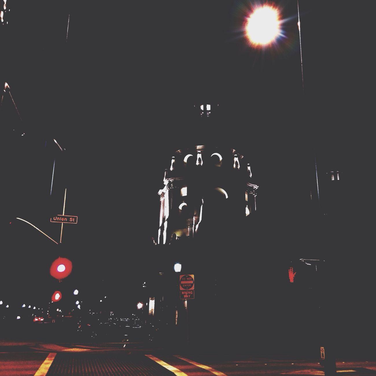 Walking home..