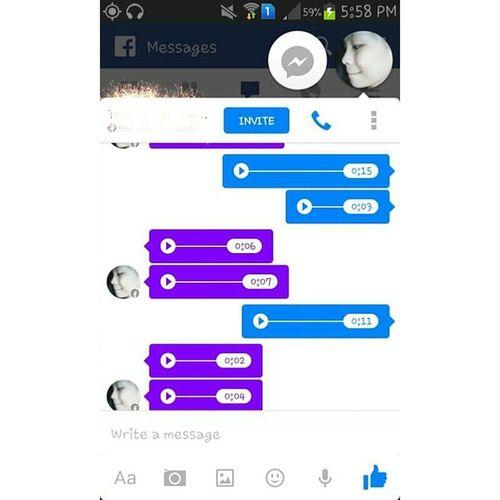 VoiceMessage w/my batang maganda / b3h ❤?