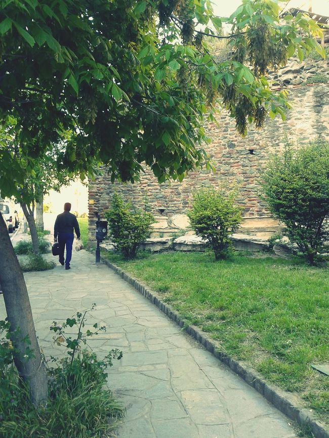 How do I get close to you, even if you don't notice? LifeLessOrdinary Spotted Busystranger Greenery Scenery Thessaloniki Greece Lonelywalks LiveLoveLife Cityruins DaysOfSadness Meetthemoment