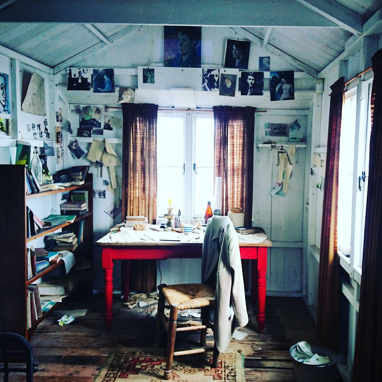 Dylan's writing shed