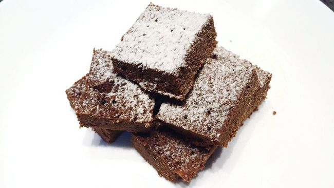 Brownies 😋😋 Eyecandysorted Yuminthetum Fudgybrownies Foodporn Mouthwatering Jack&kitchen Jack&food