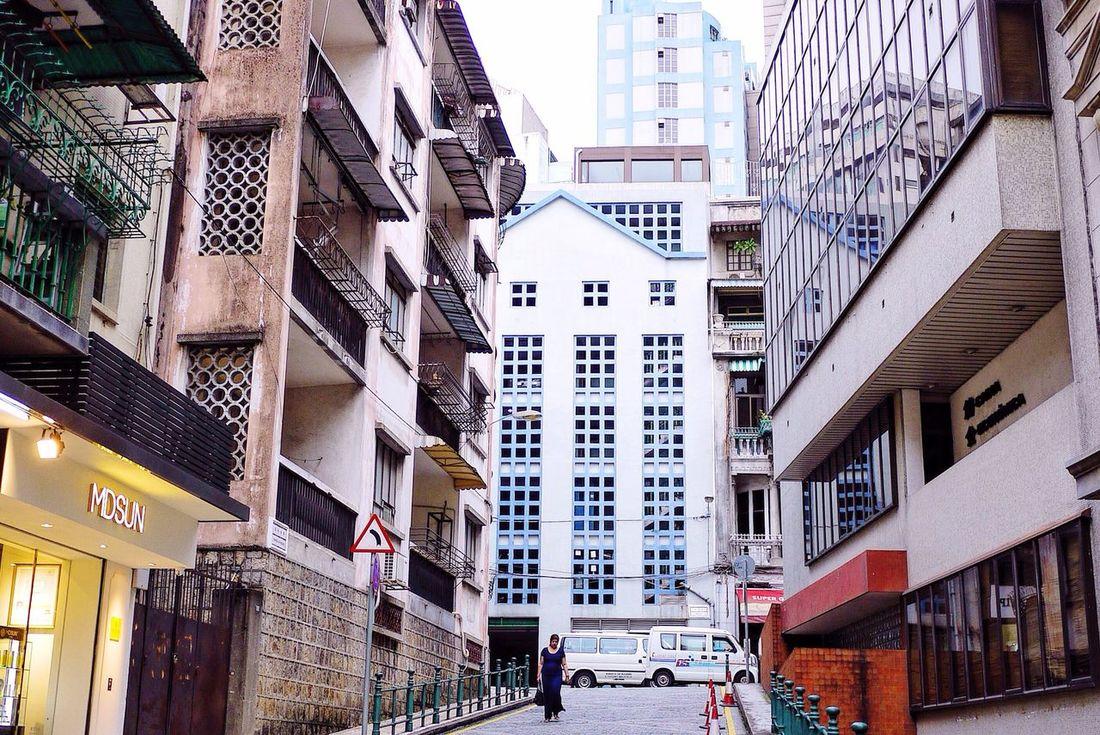 Minimalism Urban Landscape Explore Macau Macau Squares Equilibrium Building