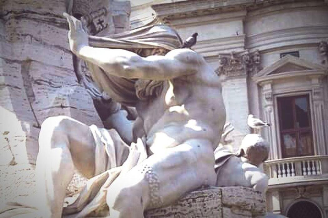 Gianlorenzobernini Art TrueArt Barocco Rome PiazzaNavona FontanadeiQuattroFiumi Roma Seicento