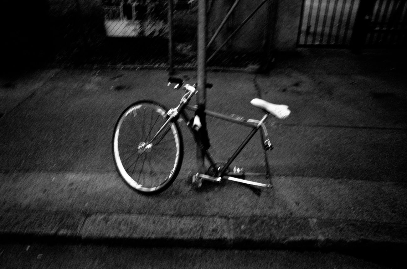 Absence Atmosphere Bicycle Bike Black And White Errance Geneva Geneve Mood No People Ricoh Gr Street Photography Streetphotography Wandering