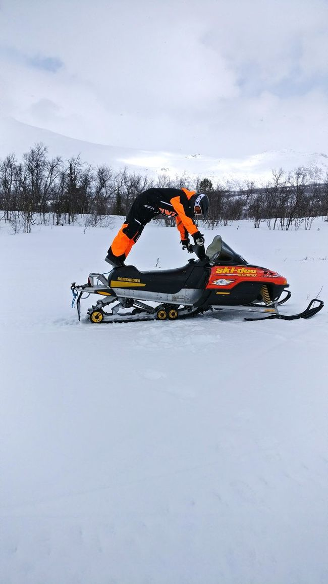 Adventure Snow Mountains Nature Winter Outdoors Snowmobile