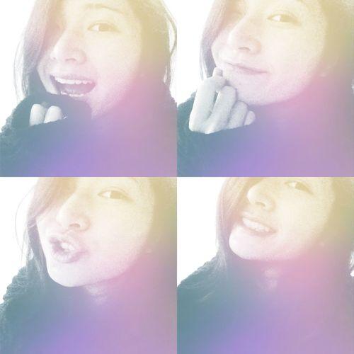 Smile Selife Colors Feeling Myself