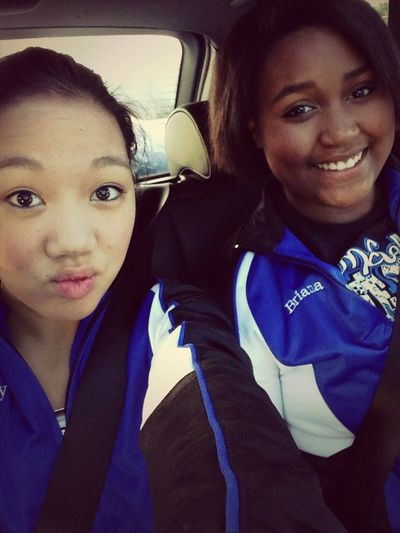 Driving To Competition