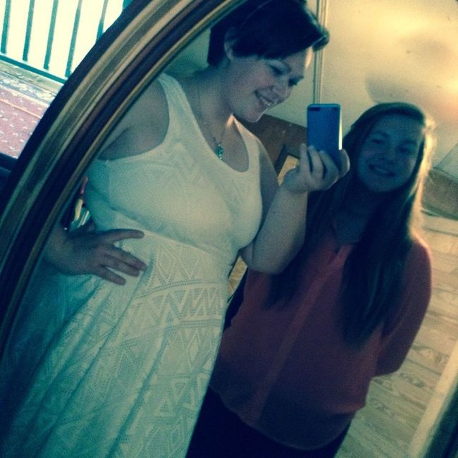 My sister and I :) Family Wearecute Sistersforever