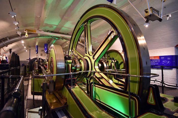 Engine Room Indoors  London Metal Part Of Tower Bridge  Towerbridge