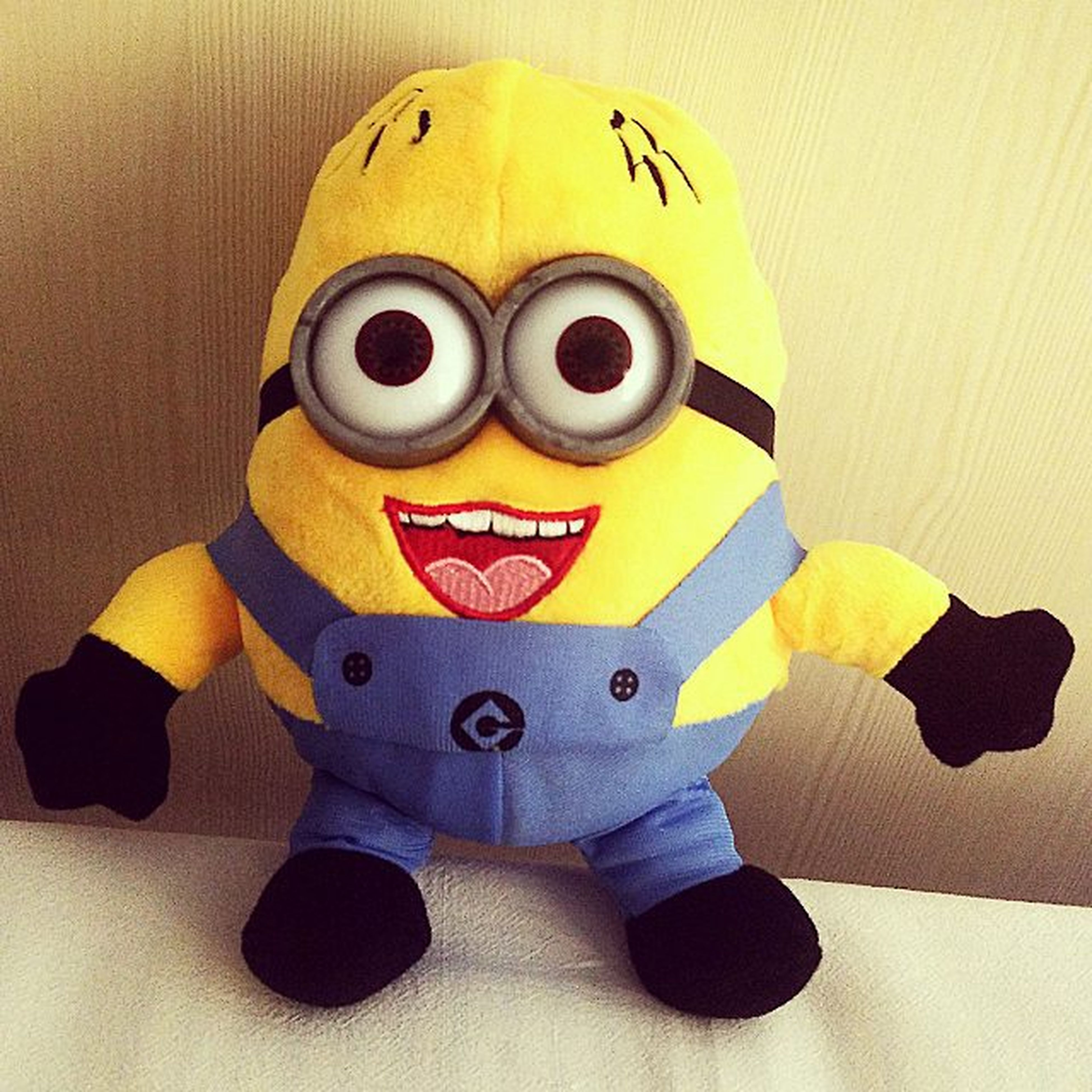 That awesome feeling when someone is making an effort to make you smile. Goodmorning Surprise Gift Minions Minionlover MinionAllTheWay Minionday