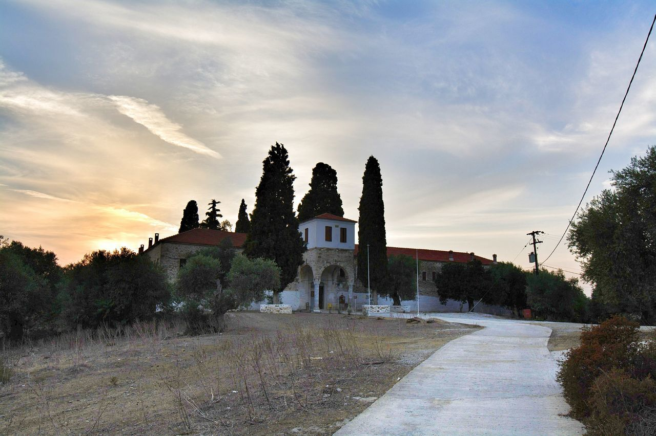 Moni Panagias at Agios Ioannis Greece... Sunset Architecture Built Structure Travel Destinations Monastery Monastery Church Greece2016 Wonderful_places Nikon_photography_ Hello World EyeEm Gallery Eyeem4photography Wonderful Time Capture The Moment Holiday Mood Landscape Greece Islands Building Exterior Architecture Outdoors Perfect Shot Wonderful Greece Beauty_collection Time For Me Time To Relax