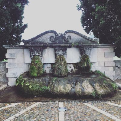 Very interesting fountains of Lourmarin Lourmarin Water